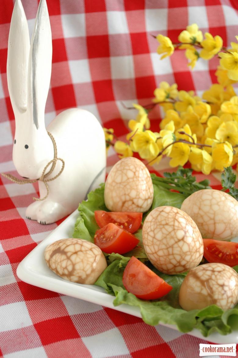 Чайні (мармурові) яйця