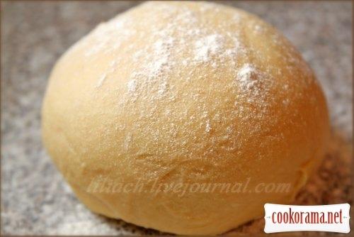 Choux dough for chebureks, varenyky, pelmeni