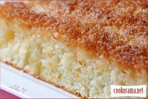 Кокосовый пирог / Buttermilchschnitten
