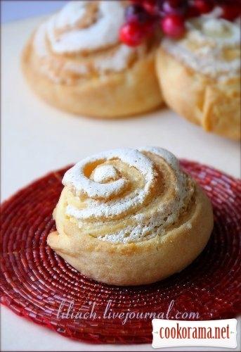 Curd cookies «Roses»