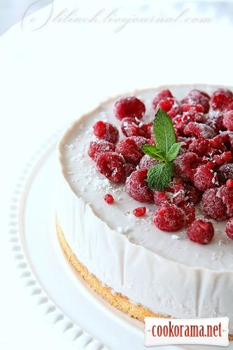 Торт ягодное мороженое