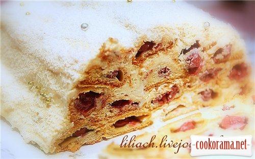 Медовий торт «Царська хатинка»