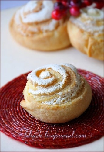 """Curd cookies """"Roses"""""""
