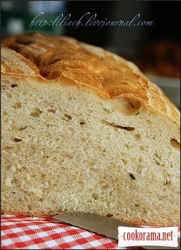 Хлеб с кабачками цукини