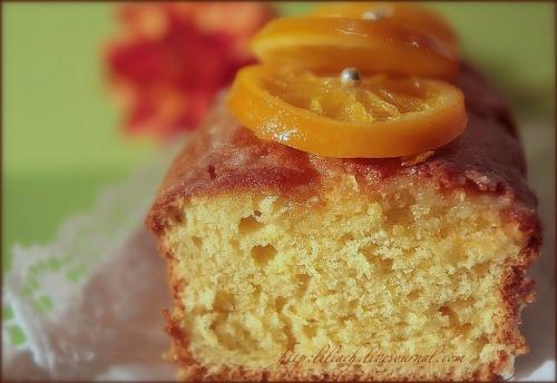 Апельсиновый кекс с цукатами