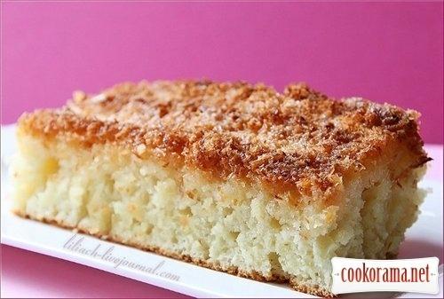 Кокосовий пиріг / Buttermilchschnitten