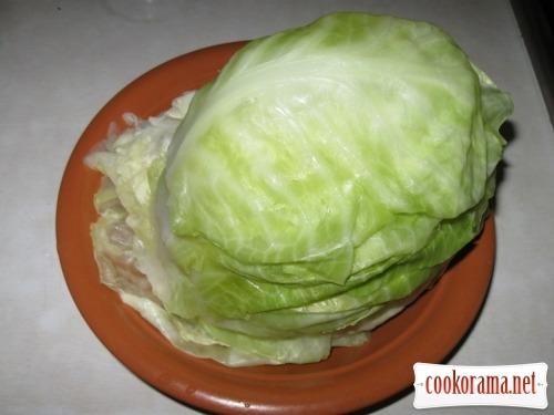 Lenten cabbage rolls
