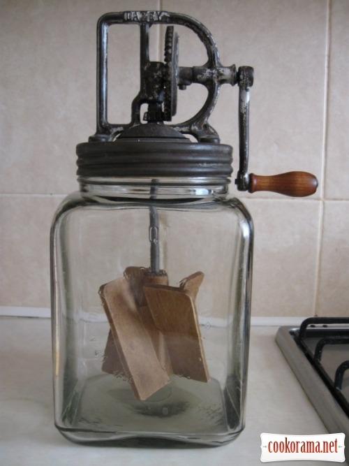 Как сделать маслобойка своими руками