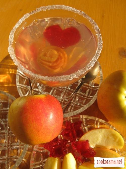 Десерт «Валентинка»