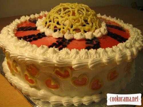 Тортик для закоханих