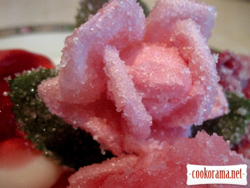 3D Цветы в желе. - m
