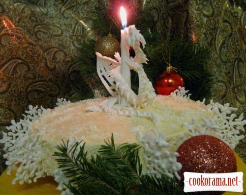 Торт «Новорічний дракон»