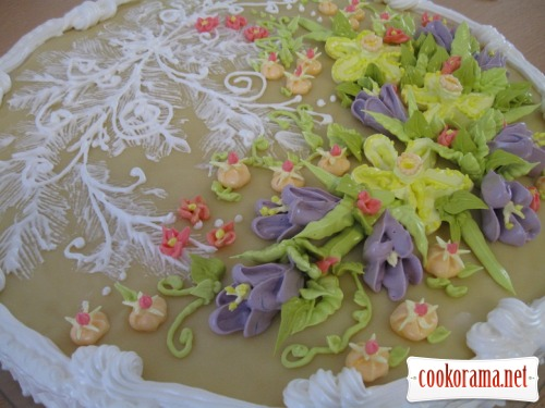 Cake «Spring»