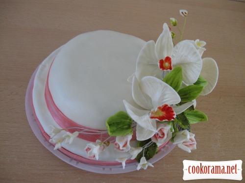 Торт маковий
