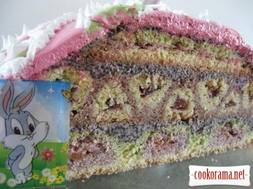 Торт «Писанка»