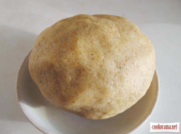 Marzipan orangentaler - марципаново-помаранчевий талер
