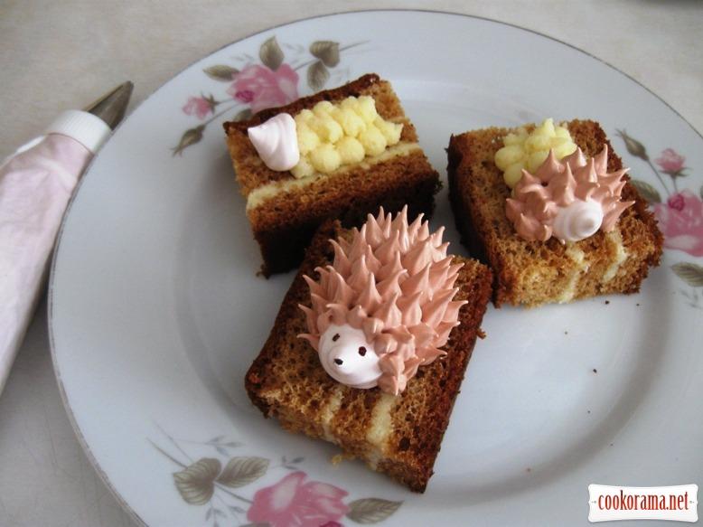 медові тістечка