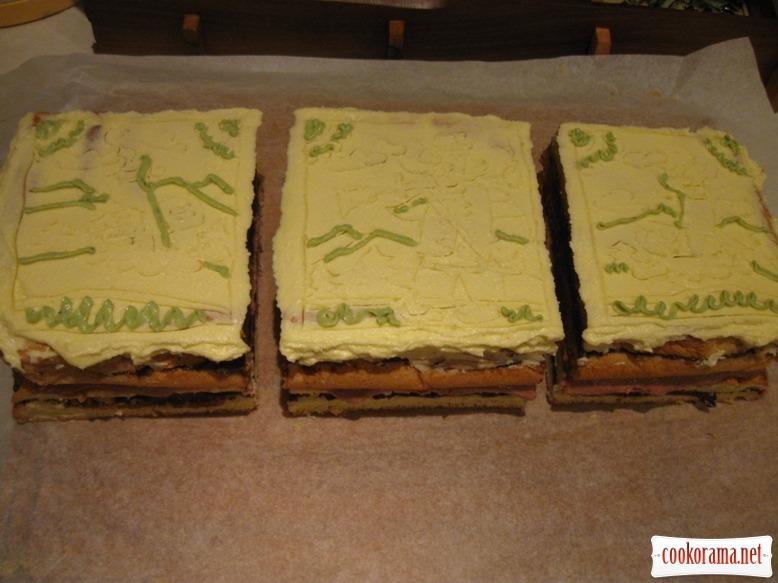 торт «Косівський сувенір»