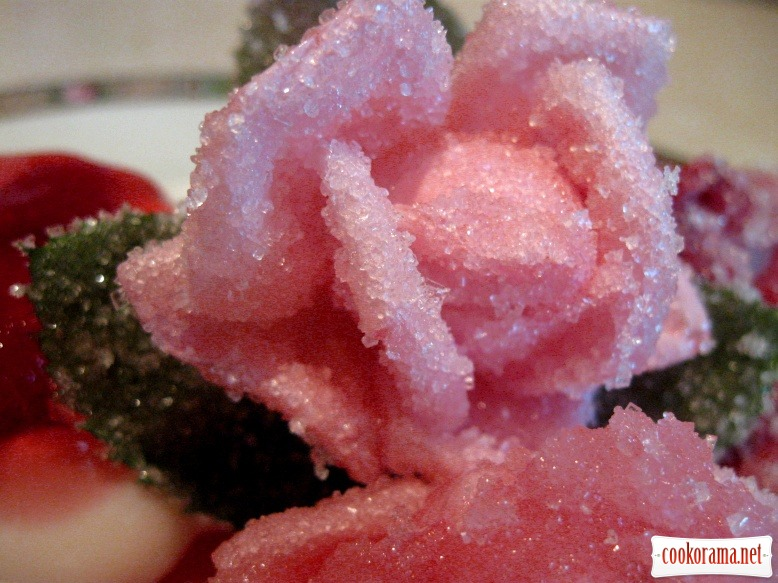 Конфетные розы