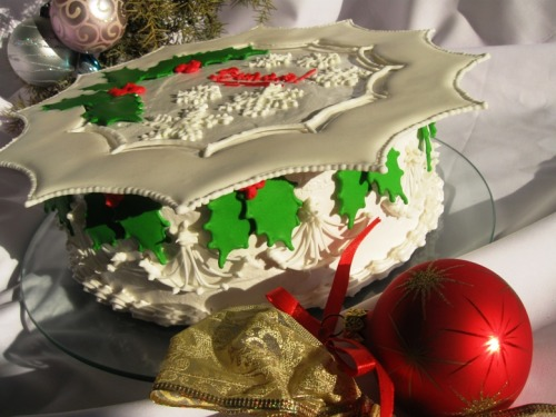 Торт шоколадно-вишневий