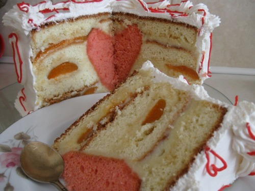 """Торт """"Сердечко"""""""