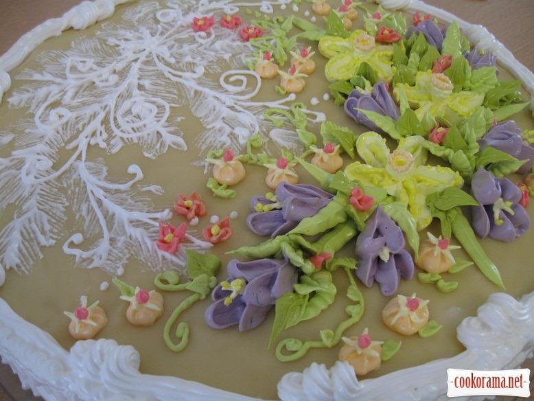 """Cake """"Spring"""""""