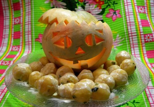 Тыква на Хэллоуин!!!)