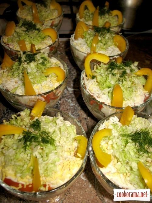 Salad «Swan»