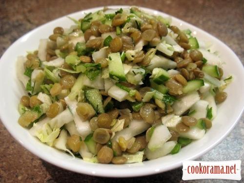 Зелений салатик