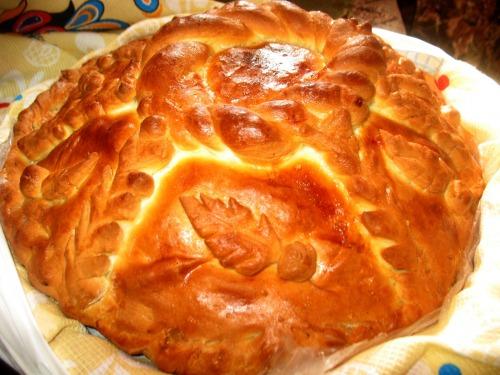 Курник - один з найвідоміших російських пирогів