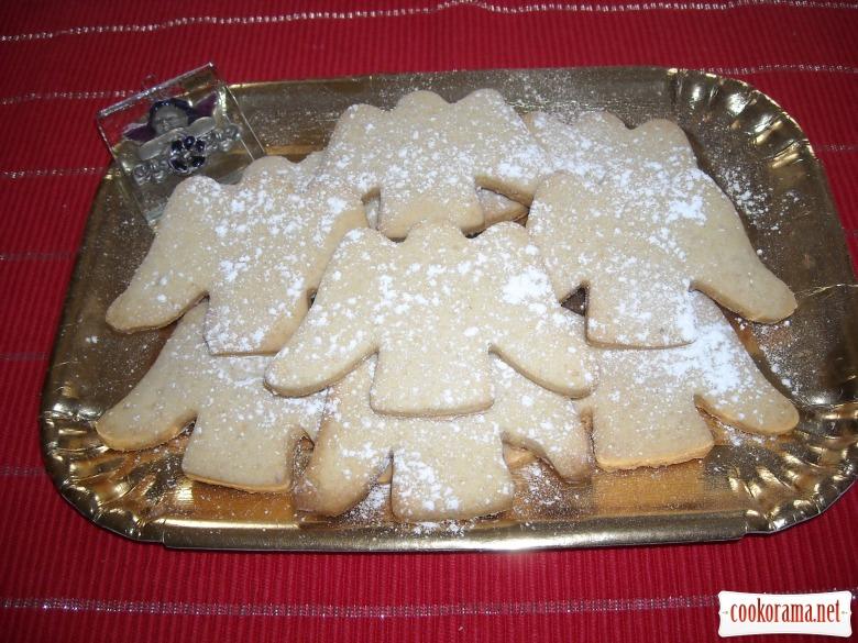 Рождественское печенье «Ангелочки»