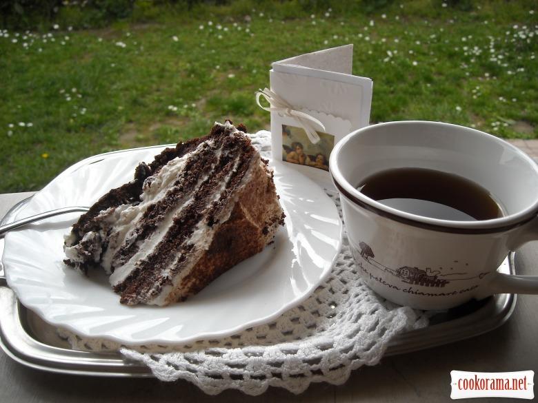 Шоколадный супер торт