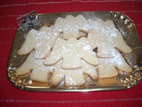 """Рождественское печенье """"Ангелочки"""""""