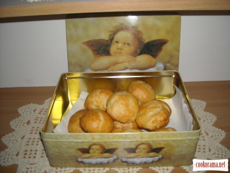Постные булочки