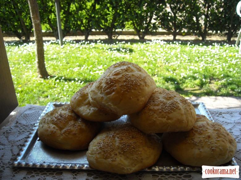 Кунжутные булочки