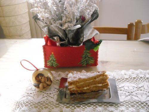 Медовий угорський торт