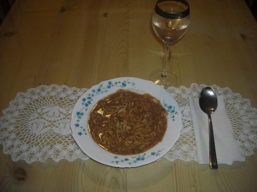 Італійський суп-пюре з квасолі