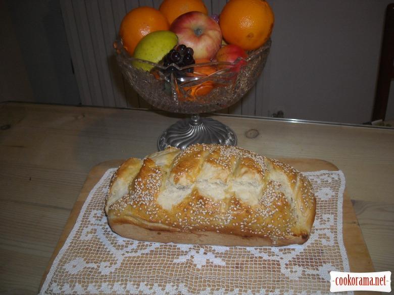 Хліб кунжутний