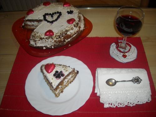 """Торт медовий """" Для коханого"""""""