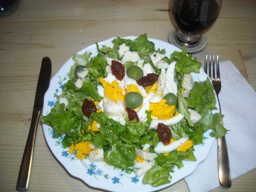Салат зелений