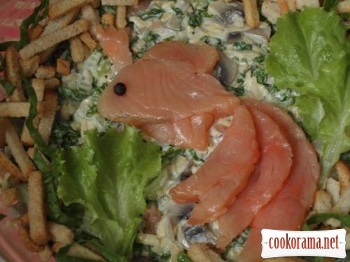 Салат «Золота рибка»
