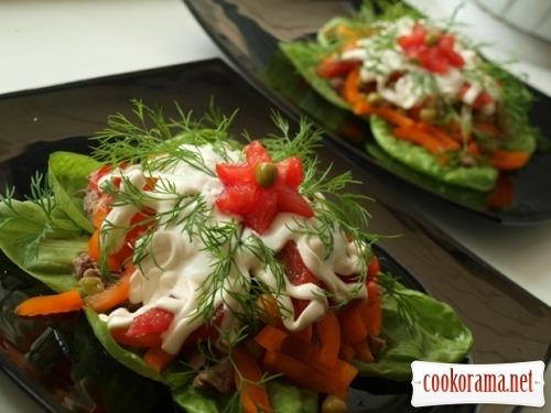 Portion salad «Ilmen»