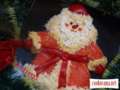 Салат «Дед Мороз - Красный нос»