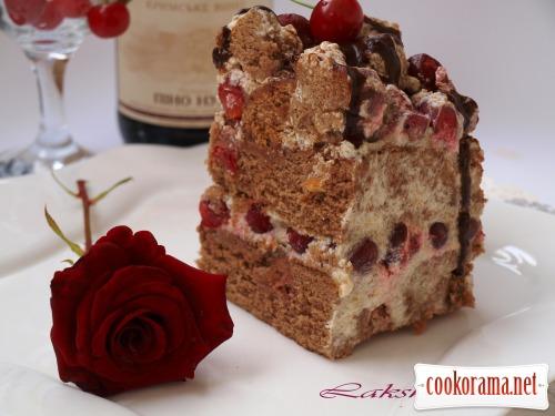 Торт «Вишневый поцелуй»