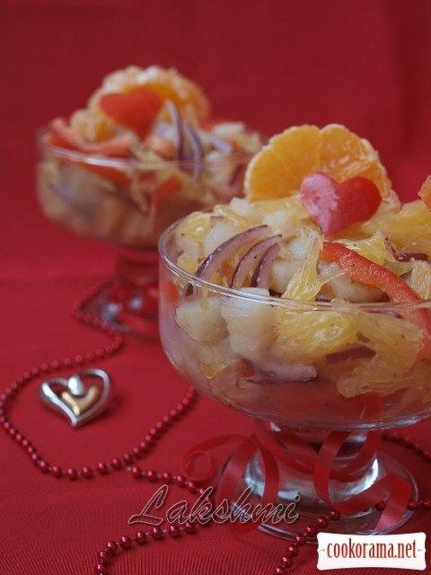 Салат «Испанские страсти»
