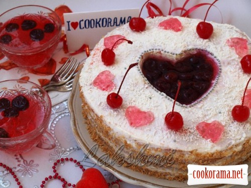 Cake «Heart for Cookorama»