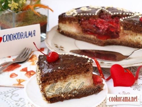 Торт для самых любимых и дорогих мужчин + бонус пирожное «Звезда»