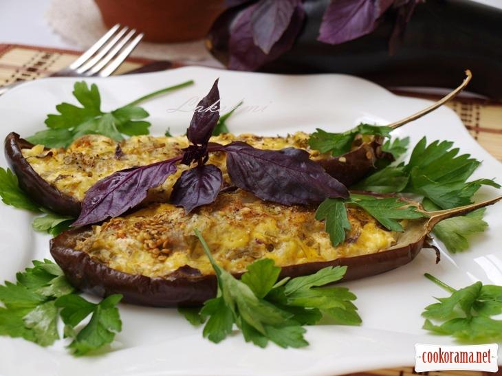Baked eggplants «kucherikas»