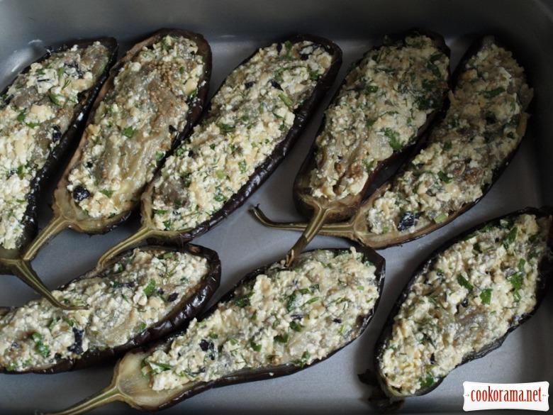 Baked eggplants