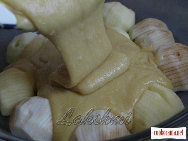 Swabian apple pie